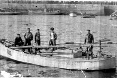 A Barreir de David no porto da Coruña