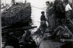 Barco da leña anos 1960