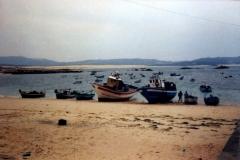 Barcos varados