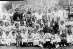Día da árbore ca Sra Concha nos anos 1934-35