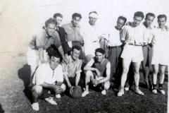 Equipo de futbol anos 40