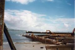 Obra no porto