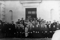 Veciños da parroqia anos 50