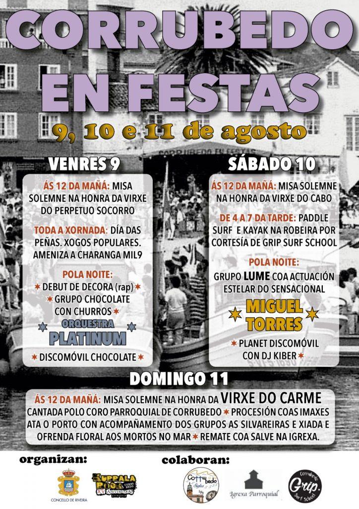 Fiestas de Corrubedo 2019